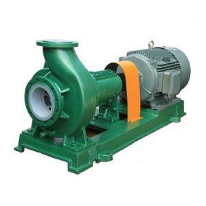 Bơm hóa chất lót nhựa IHF 65-50-125 dùng để bơm liên tục